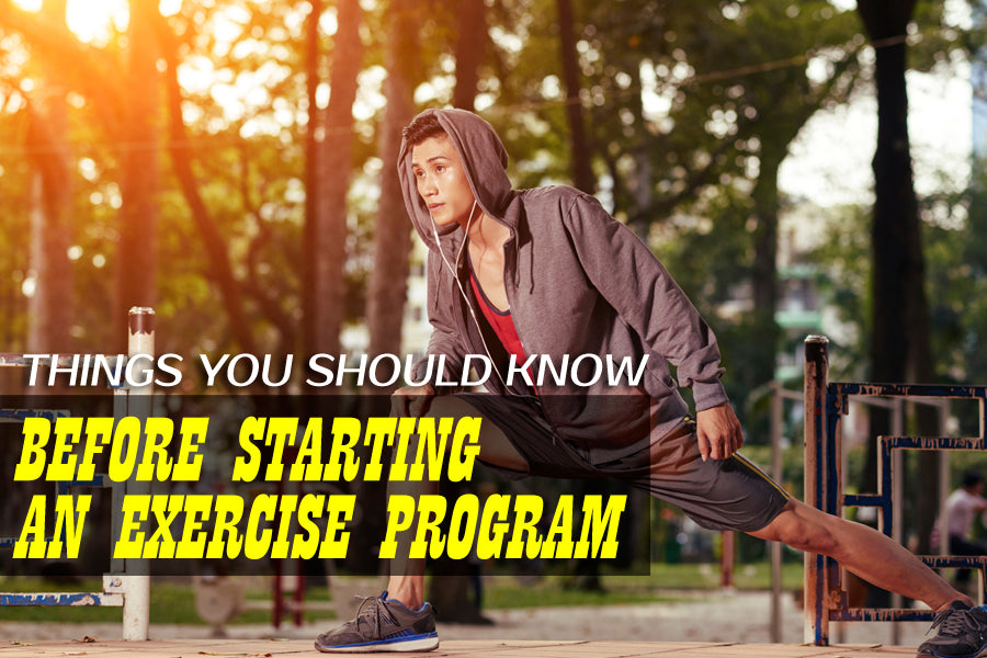 Things You Should Know Before Starting an Exercise Program