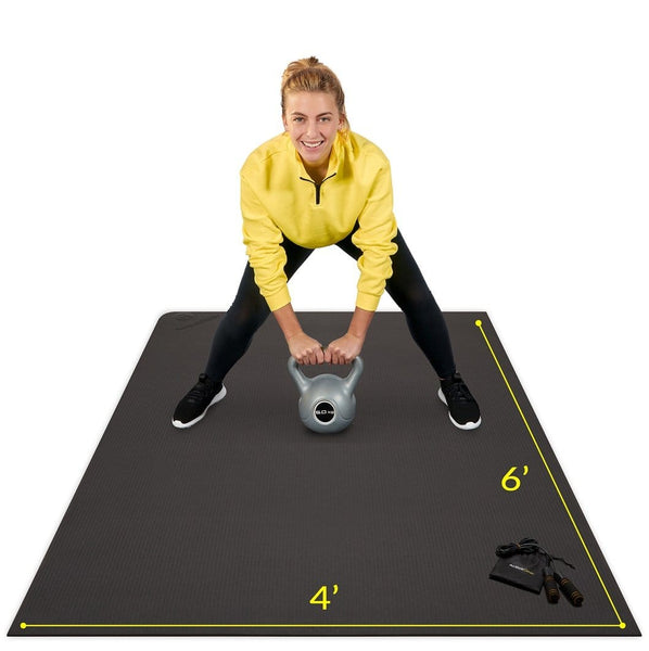 Premium Large Exercise Mat 6' x 4' x 7mm