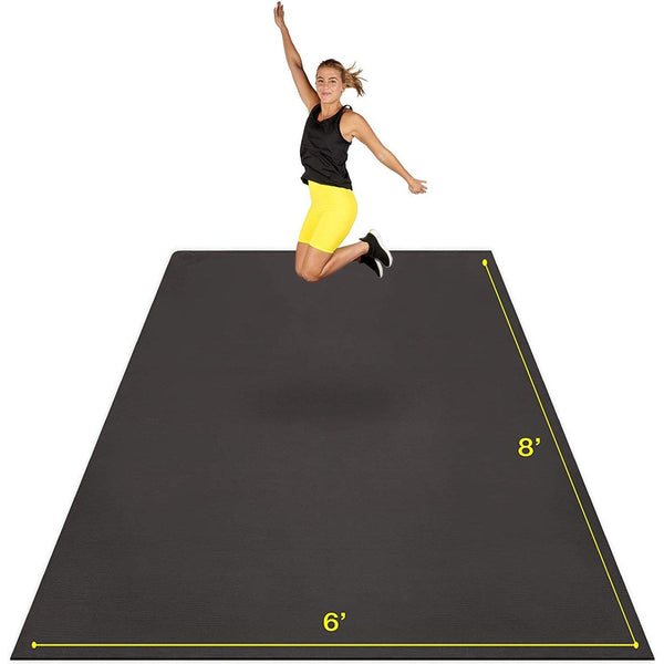 Premium Extra Large Exercise Mat 8' x 6' x 7mm