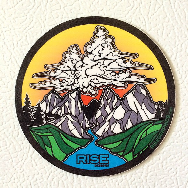 RISE Designs Sticker Pack