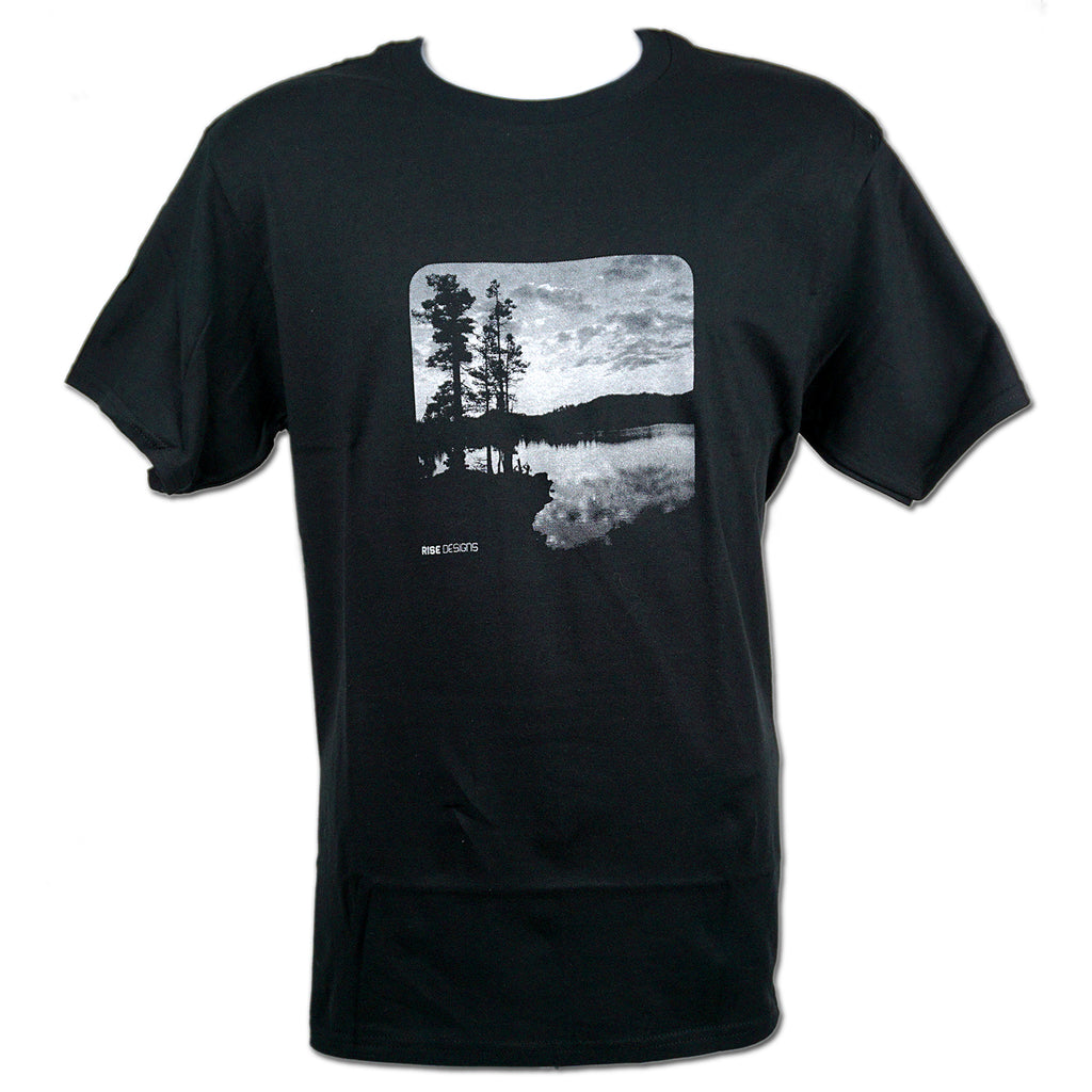 Desolation Wilderness T-Shirt - Mens - Jet Black