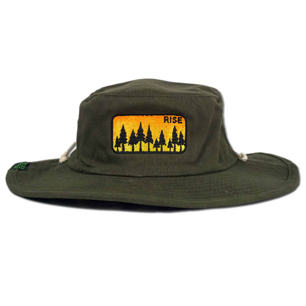 Safari Sunrise Hat - Olive Green