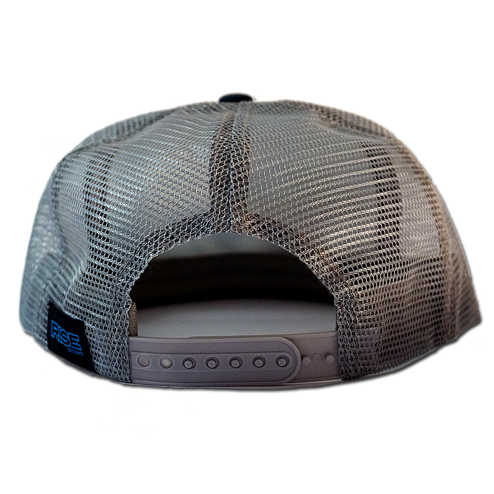 The Western Sky - Trucker Hat - Grey/Teal