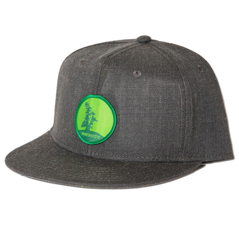 Mother Tree Snapback Hat - Heather Black