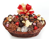 Valentine's Day Deluxe  Chocolate Gift Basket