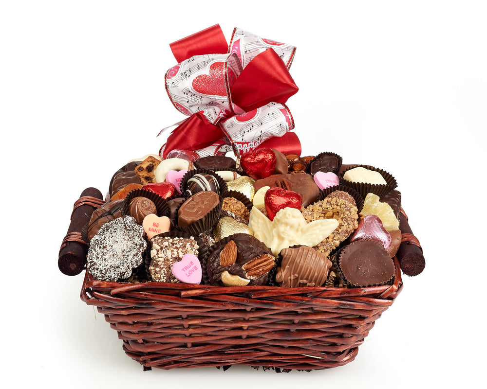 Valentine's Day Luxury Chocolate Gift Baskets