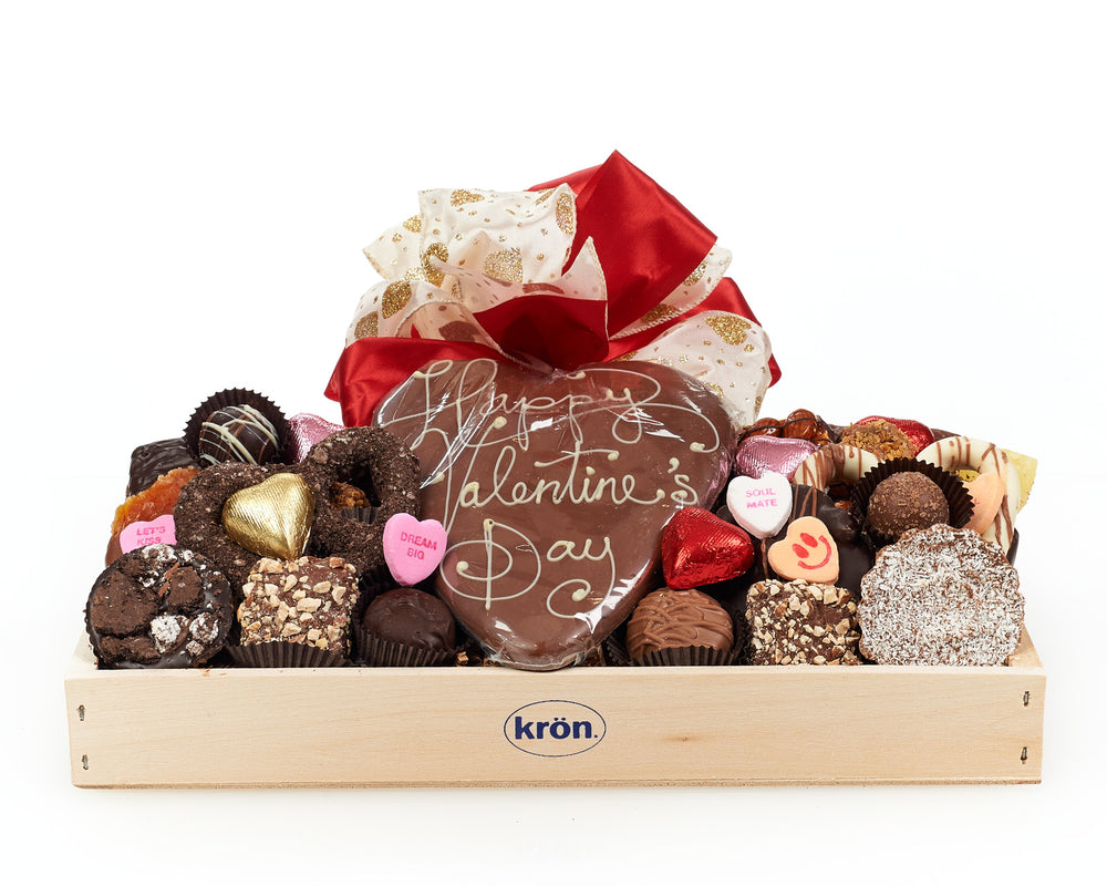 Valentine's Day Luxury Chocolate Gift Crate
