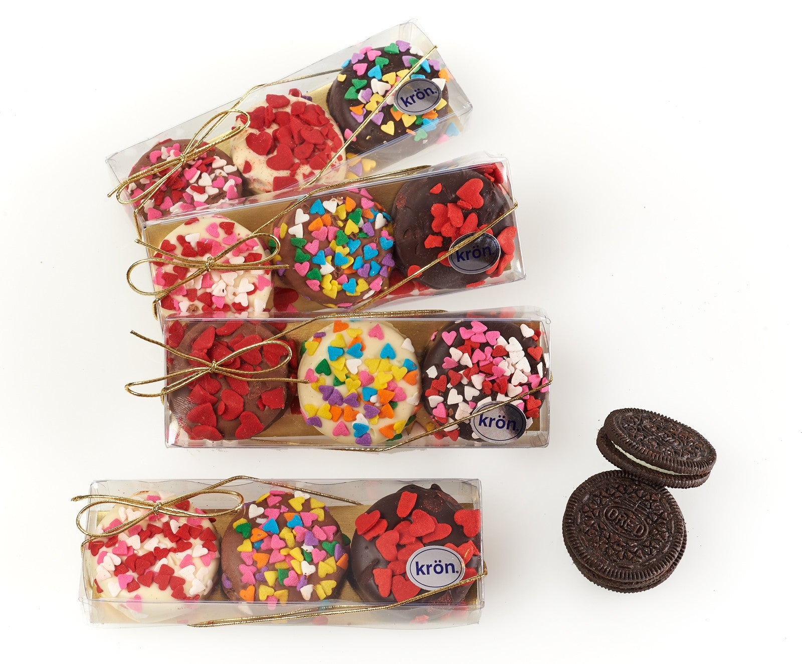 Chocolate Covered Oreo(R) Party Favors, set of 4 boxes