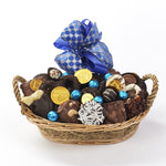 Hanukkah Chocolate Gift Basket 1.5 lbs