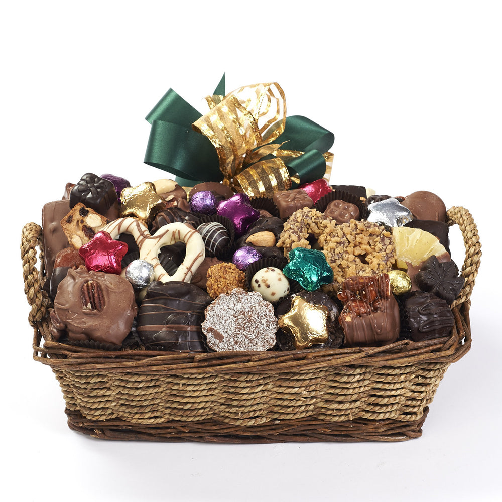 Holiday Chocolate Gift Basket 2.5 lbs.
