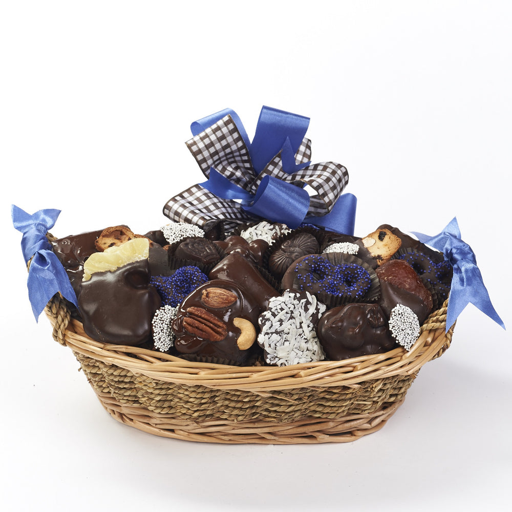 Parve Chocolate Gift Basket 1.5 lbs