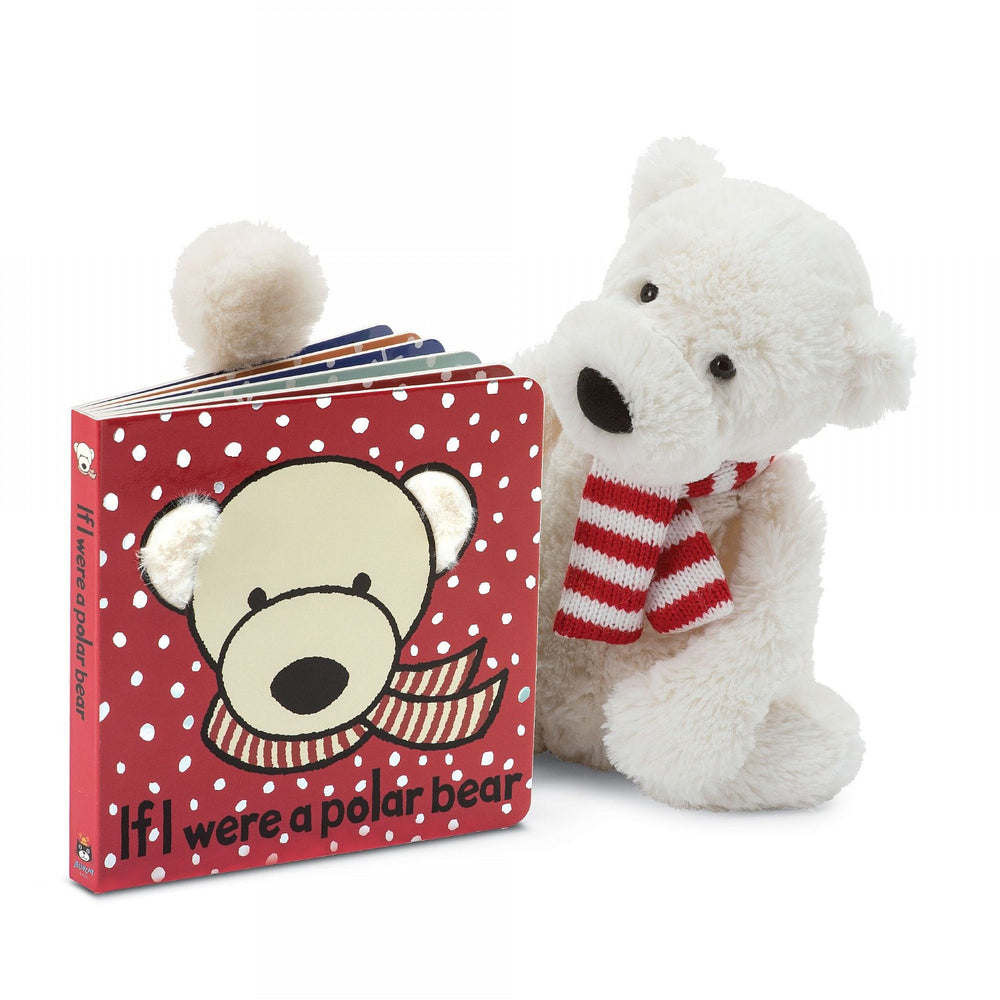 Book + Toy, If I Were a Polar Bear, by Jellycat