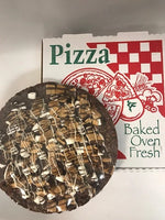 Parve dark chocolate pizza with marshmallow