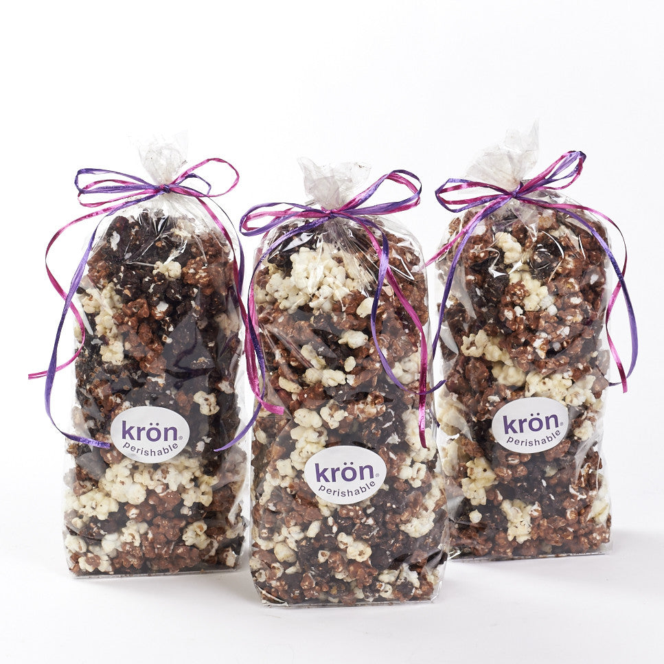 Chocolate Covered Popcorn, Set of 3 bags