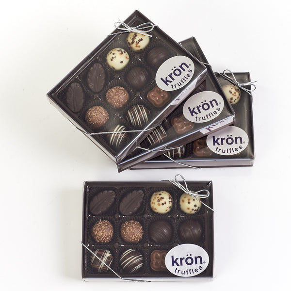 Kron Chocolate Truffles, 12 pc. box