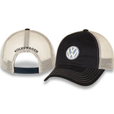 VW Hat, Navy Blue and White with Volkswagen Logo