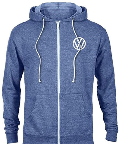 VW Ladies Zip-up Hoodie Sweatshirt