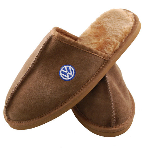 VW Mens Suede Slippers
