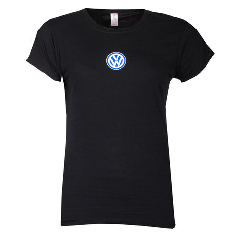 VW Ladies Black Tee