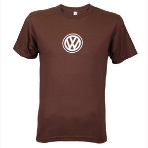 VW Logo Tee, Brown