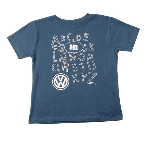 VW Indigo Toddler ABC Tee