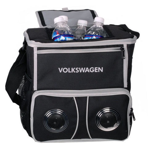VW Black MP3 Player Cooler