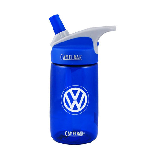 VW Blue Camelback H2O Bottle