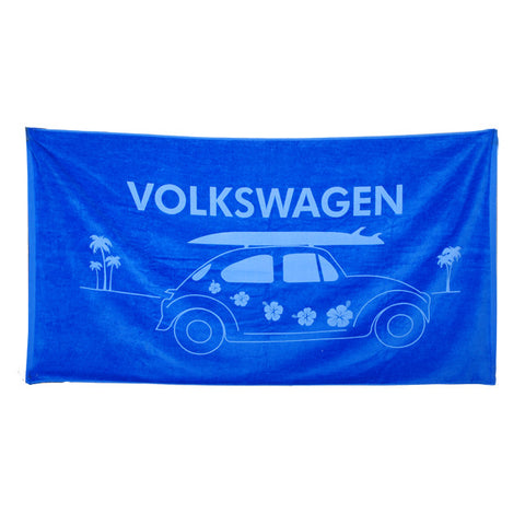 VW Royal Beach Bug Towel