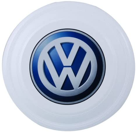 "VW White 9"" Flyer"
