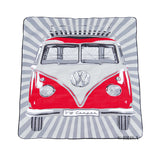 VW T1 Bus Picnic Blanket with Carrying Bag - Red