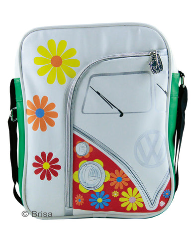 VW T1 Shoulder Bag Flower
