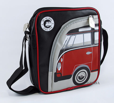 VW T1 iPad Bag Red/Black