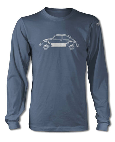 Volkswagen Beetle Classic T-Shirt - Long Sleeves - Side View