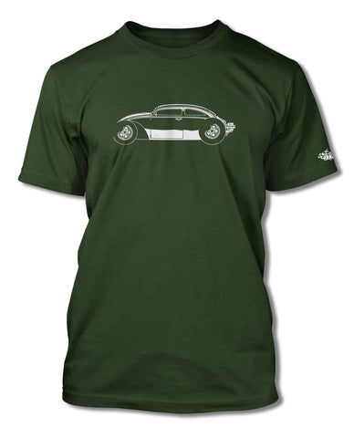 "Volkswagen Beetle ""VolksRod"" T-Shirt - Men - Side View"