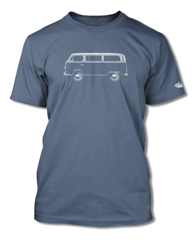 Volkswagen Kombi Bus Microbus T-Shirt - Men - Side View