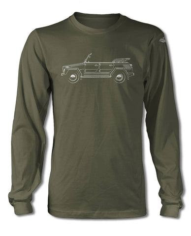Volkswagen The Thing T-Shirt - Long Sleeves - Side View
