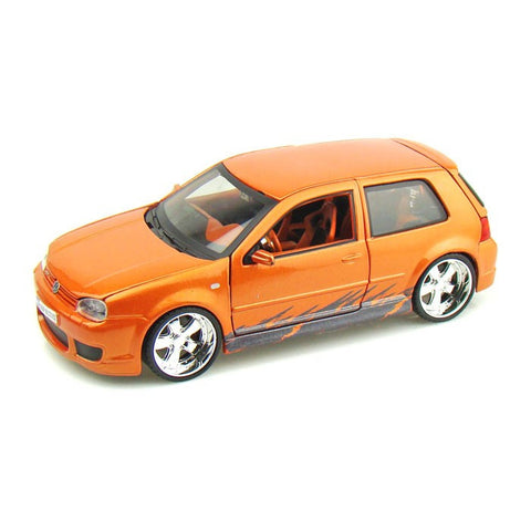 1:25 AllStars VW Golf R32 Miasto Diecast, Orange