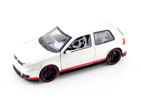 1:25 AllStars VW Golf R32 Miasto Diecast, White