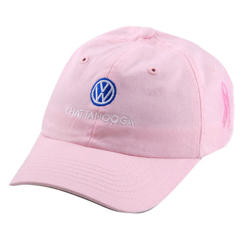 VW Ladies Chattanooga Pink Ribbon Cap