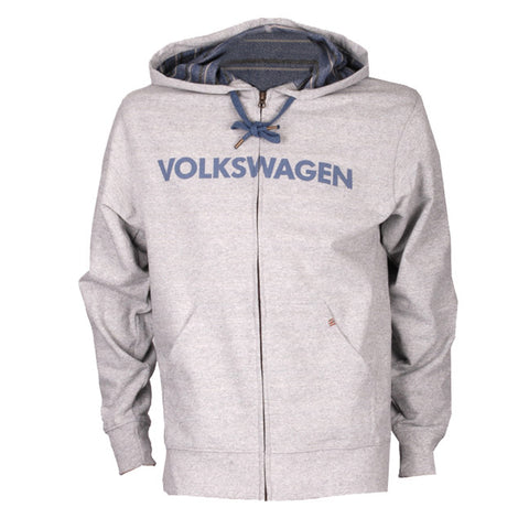 VW Gray/Denim Stripe Hoodie
