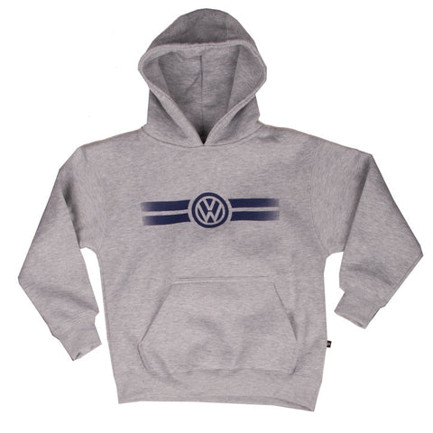 VW Youth Grey Hooded Fleece