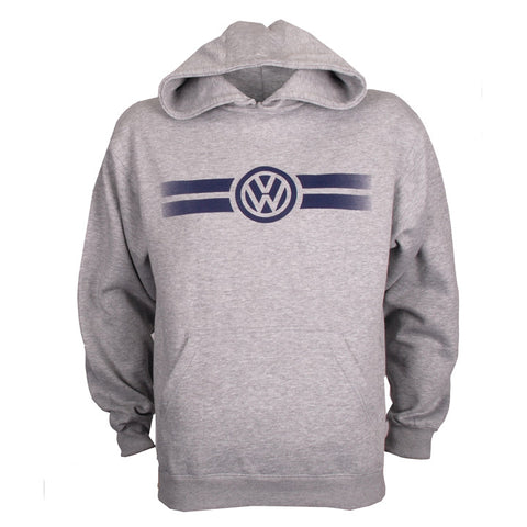 VW Adult Grey Hooded Fleece