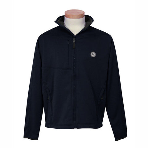 VW Mens Black Poly Fleece