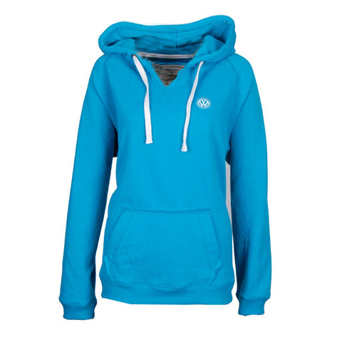 VW Ladies V-Neck Hood Malibu