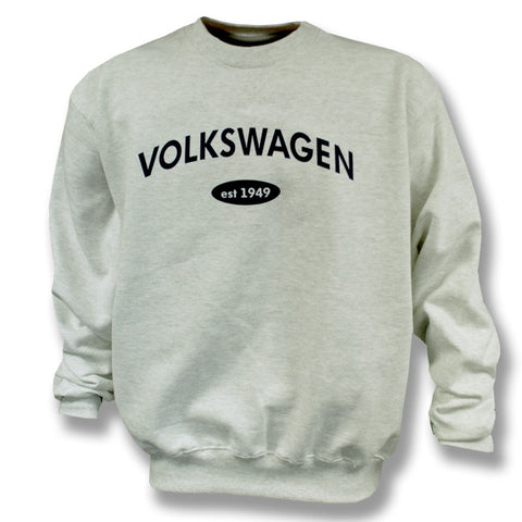 VW Grey Champion Crewneck Fleece