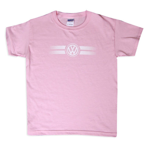 VW Youth Pink Game Day Tee