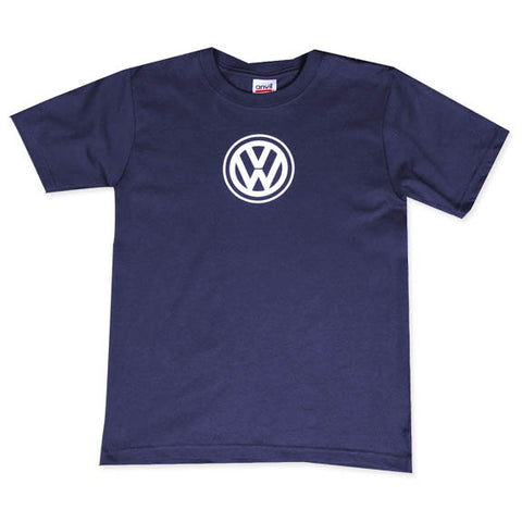 VW Youth Navy Tee