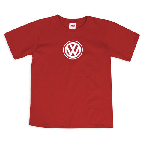 VW Youth Burgundy Tee