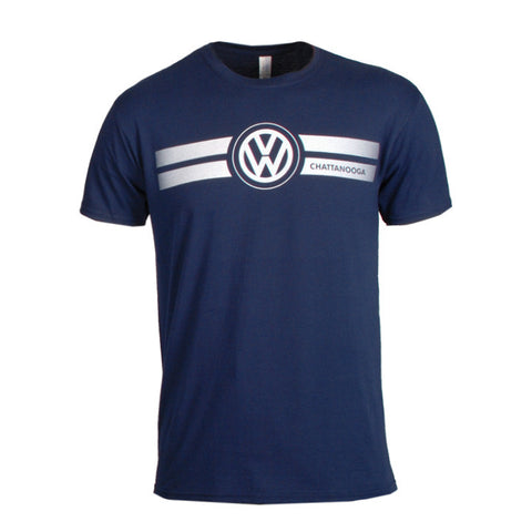 VW Chattanooga Navy Game Day Tee