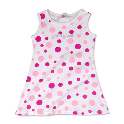 VW Toddler Dress, Polka Dot Dress